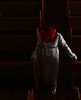 The Penitent (coollessons2004) Tags: krystalsmith woman elegant elegance red church hat white dress