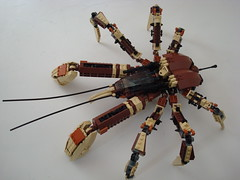 Scuttler (Lino M) Tags: brown bug lego coconut tan crab battle bugs lino arthropod junglefever