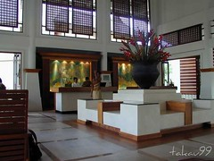 Lobby of Amari Emerald Cove Resort, Thailand