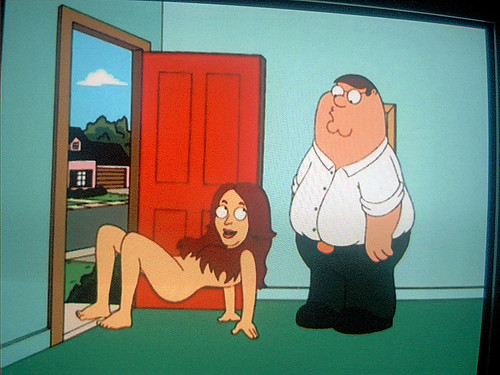 lindsay lohan on family guy