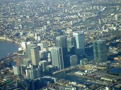 London Skyline (June Lloyd) Tags: city london eye birds thames skyline view londonskyline viewfromplane junelloyd