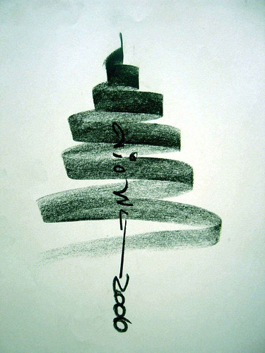 one design of one second.( christmas tree ) / ali ghotbi