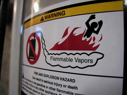 Flammable Vapors