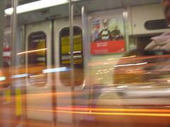 Blue Line Train (rdd90802) Tags: blur trains blueline coolpix8800