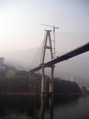 Bridge construction (perspective-OL) Tags: yangtze river china zhong guo jangtze bridge construction
