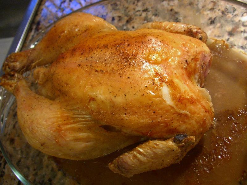 Pollo arrosto con 2 limoni - Brathuhn mit Zitrone