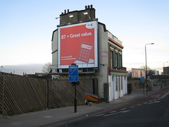 The Queen Vic, A12 (LoopZilla) Tags: london beer pubs clearchannel eastlondon deadpubssociety pubads deadpubs