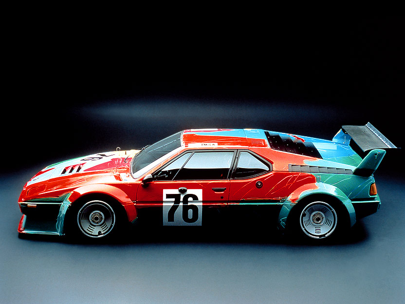 BMW M1 Art Car de Andy Warhol