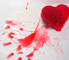 Wounded..... (cattycamehome) Tags: red color colour love beauty tag3 taggedout wow pain tag2 all tag1 heart quote  valentine rights lovepeace bleed wound reserved renoir catherineingram cattycamehome allrightsreserved
