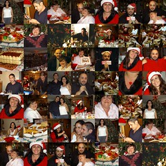 Christmas Day 2005 - 1 Collage (FOTOGRAFIA.Nelo.Esteves) Tags: 2005 christmas xmas family natal dinner newjersey sister decoration nj illumination noel niece nephew hampton dimageg600 christmasdinner hunterdoncounty christmasday2005 neloesteves