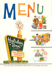 Holiday Inn menu