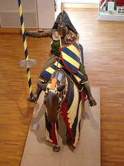 Clip clop (rmwhittaker1012000) Tags: horse yorkshire leeds lance armour chainmail royalarmouries platemail heaume leedsroyalarmouries greathelm