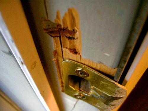 Kapot deurslot