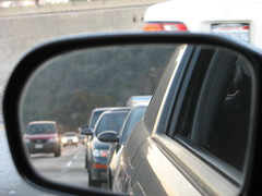 Mirror (Airportmatt) Tags: losangeles traffic interstate5