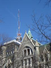 Old meets new (bkmcae) Tags: richmond richmondva cityhall oldcityhall