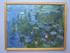 Water-Lilies Claude Monet: In the Neue Pinakothek