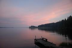 The pink lake (HeikkiV) Tags: lake sysmä mökki päijänne suosikki heikkiv