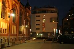 Along the Heidelberg Stadtwerk