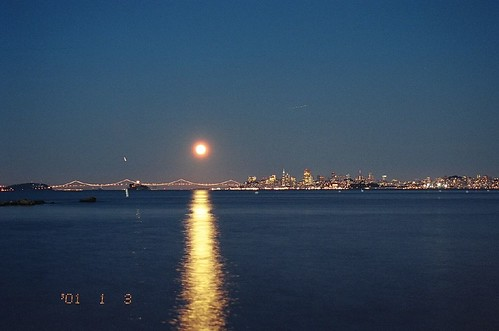 Moon Over San Fransisco