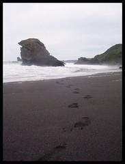 A través de la arena