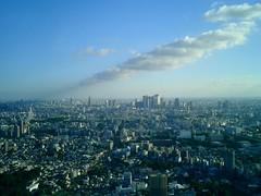 View from Roppongi Hills (Yohei Yamashita) Tags: sky japan clouds tokyo hills roppongi