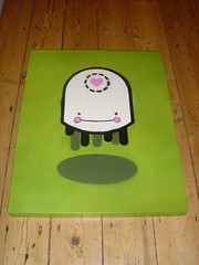 Dee's Canvas ~ Finished! (JamFactory) Tags: painting canvas spraypaint jamfactory jfart