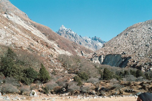 Upper Ghunsa valley