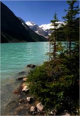 Lake Louise (halfgeek) Tags: rockies lakes badge banff lakelouise banffnationalpark