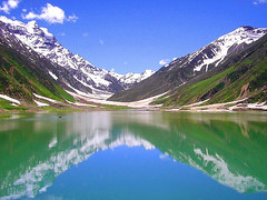 Reflection in Saif-ul-Malook Lake