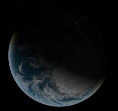 Earth South Pole