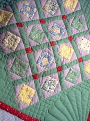 Getting closer (Nin(j)a) Tags: quilt sewing crafts craft sew stitching fibers ninky