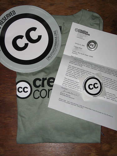 Creative Commons Welcome Pack