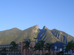 Hito (marce_garal) Tags: monterrey mexico mountain blue nature cerro silla