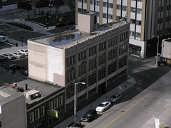 Downtown Synagogue (SNWEB.ORG Photography, LLC.) Tags: above sky building skyline architecture mi store downtown michigan religion detroit synagogue aerial fromabove clark storefront jew jewish bd lofts bldg det density reuse bldgs clarkbuilding downtownsynagogue clarkbldg clarklofts detroitsynagogue