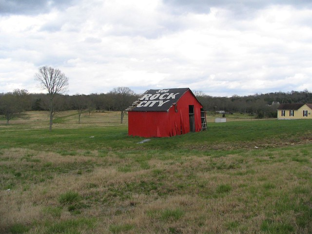 See Rock City barn, Rutherford County, TN