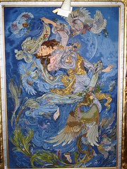 تابلو فرش (alimoeeny) Tags: iran iranian carpet farshchian فرش قالی ایران ایرانی استاد فرشچیان مینیاتور