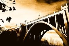 Viaducto (cuellar) Tags: madrid bridge 15fav espaa topc25 architecture 510fav wow spain nikond70 100v10f cuellar 123bw