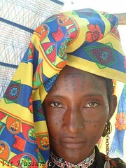 Woman from a Umm Bororo tribe...