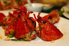 """""""Frank, Frank! I can't feel my legs! Aaaghh!"""" (lightmatter) Tags: food lobster amputees"""