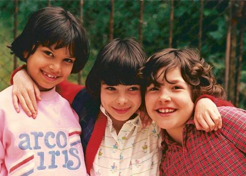 Eu, a Marta e a Joana