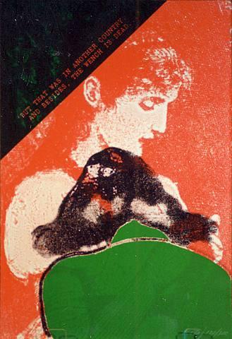 基塔R.B. Kitaj(美国1932-英国2007)作品集1 - 刘懿工作室 - 刘懿工作室 YI LIU STUDIO