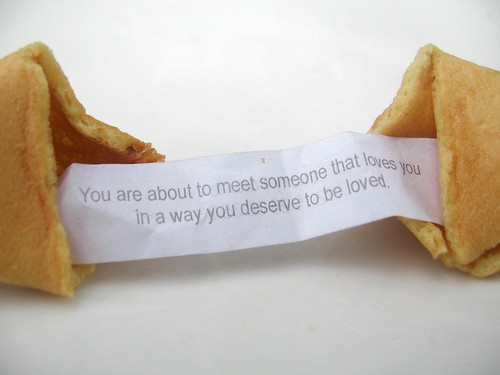 valentine's day fortune cookie