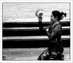Praying (Yato) Tags: original people bw bali indonesia landscape lumix fz20 asia pray culture panasonic monocrome yato byyatoallrightsreserved beautifulinonesia