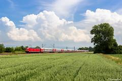 "181 211 mit EN 452 ""Transeuropean Express"" (TheKnaeggebrot) Tags: en paris train eisenbahn zug db ag express russian railways moskau 181 euronight transeuropean rzd transeuropeanexpress en452 russenzug"