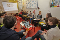 """Warm-up for the Eurovision Lab in the National Museum for Contemporary History in Ljubljana: • <a style=""""font-size:0.8em;"""" href=""""http://www.flickr.com/photos/109442170@N03/18195366449/"""" target=""""_blank"""">View on Flickr</a>"""