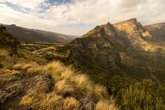 Slumbering Dragon, the Backbone of Ethiopia's Mountains (departing(YYZ)) Tags: africa travel wild mountains landscape outdoors nationalpark peak ethiopia simienmountains