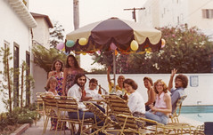 California days, 1970's, by the poolside (Robert Barone) Tags: california robert vintage losangeles ucla 1970s westwood robertbarone