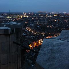 vanop skywalk Sint-Romboutstoren (mechelenblogt_jan) Tags: zonsondergang mechelen skywalk sintromboutstoren olvoverdedijlekerk buitengewoonmechelen