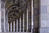 Bogengang der Kongresshalle (Abbe-Foto) Tags: bayern orte franken nürnberg kongresshalle bogengang reichsparteitagsgelände