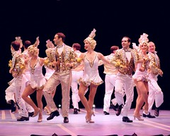 "A scene from the 2010 Music Circus production of ""42nd Street"" at the Wells Fargo Pavilion August 24-29.  Photo by Charr Crail."